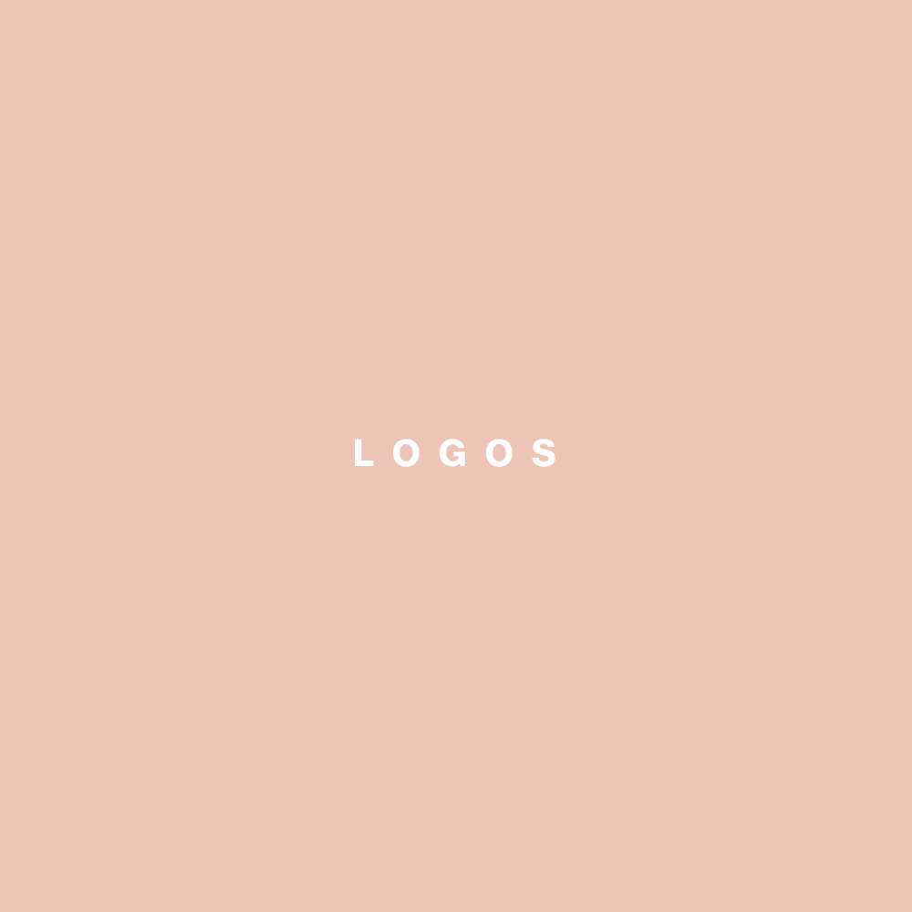 Logos   Collaborated with various brands to create their logos.