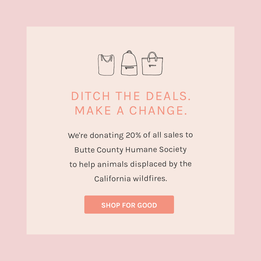 For the ACTIVIST - 20% of all Filbert sales will to donate to the Butte County Humane Society to help the rescue and relief efforts of animals affected by the California Wildfires.13% of all HausWitch sales will go to the Gifford Cat Shelter in Boston, MA.