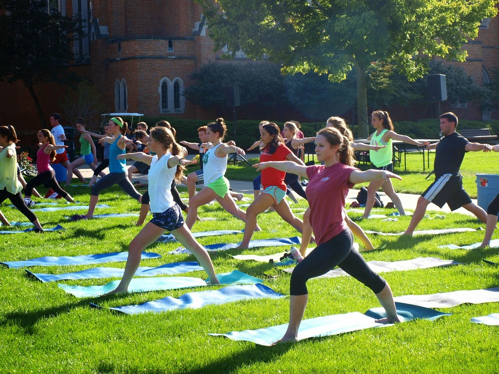 Relating Our Bodies, Minds, & Spirit- Yoga On South Quad