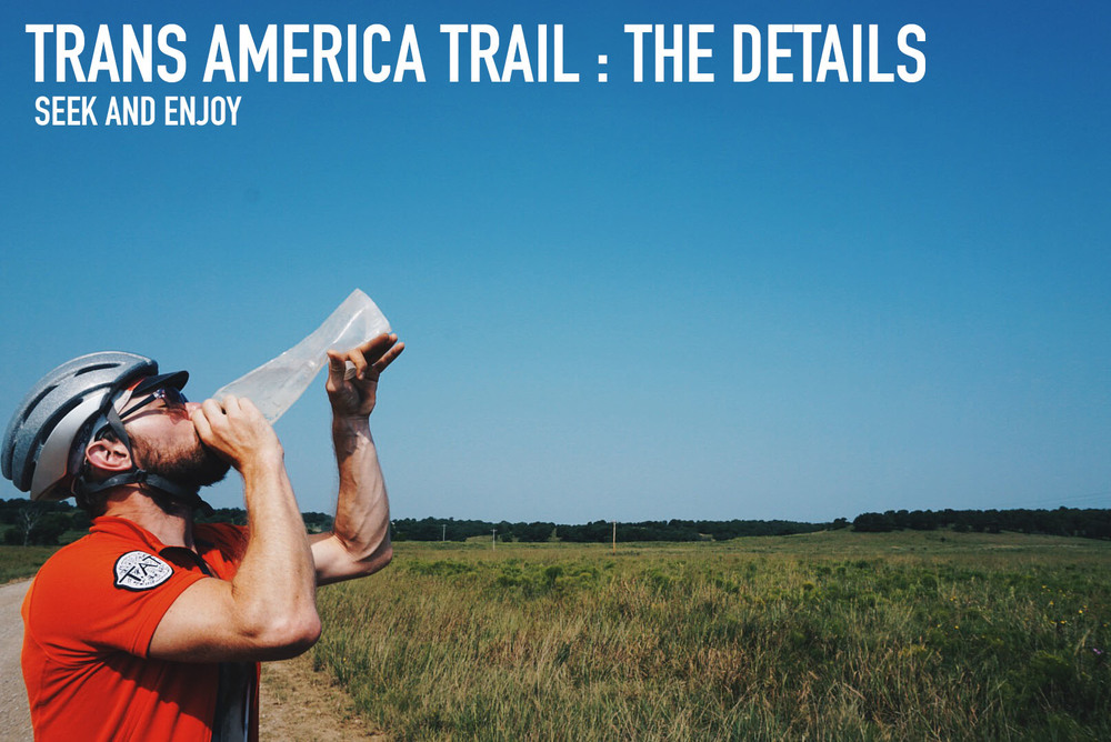 Trans America Trail The Details