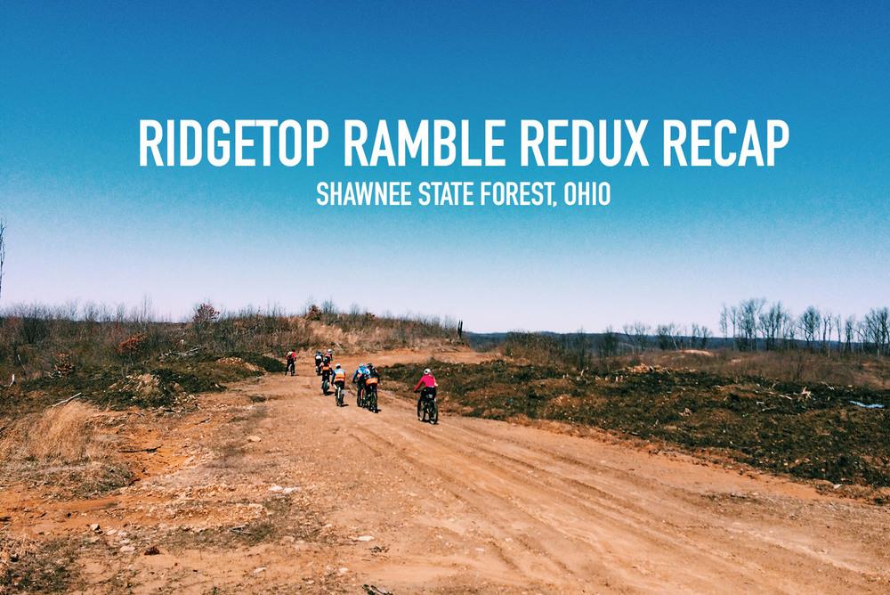 Ridgetop Ramble Redux Recap