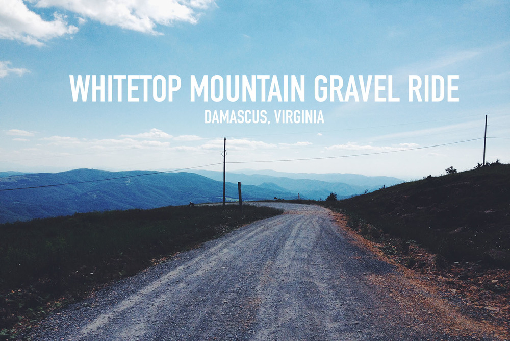 Whitetop Mountain Gravel Road Ride