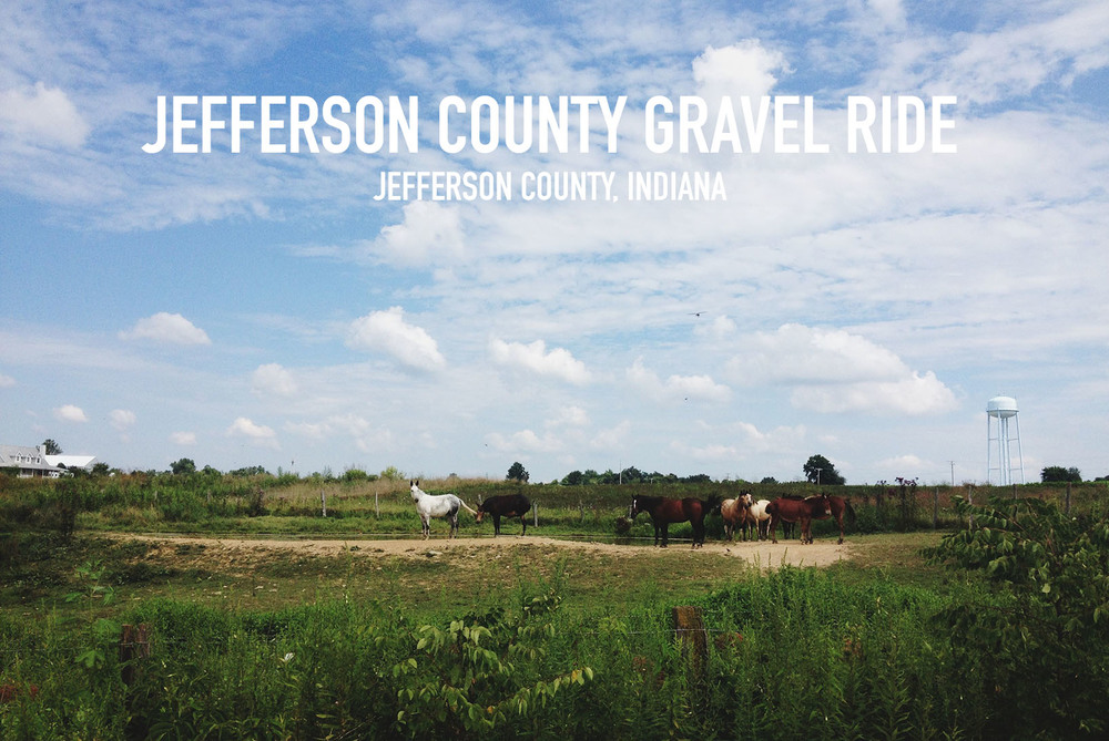 Jefferson County Gravel Ride