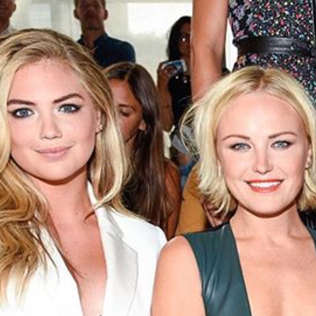 Kate Upton and Malin Ackerman with me in the background... lol