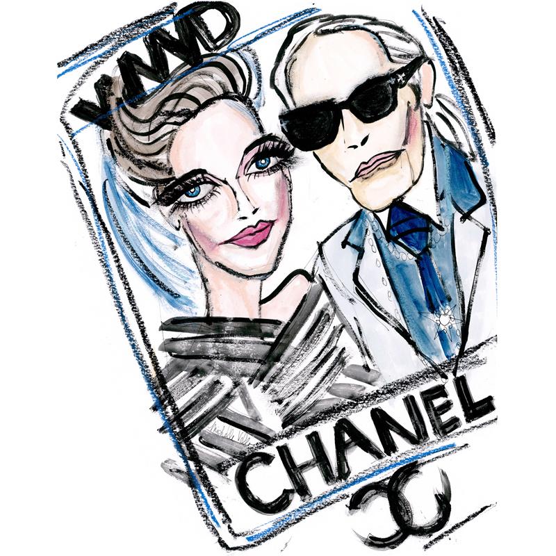 WWD Karl Lagerfeld CHANEL 277