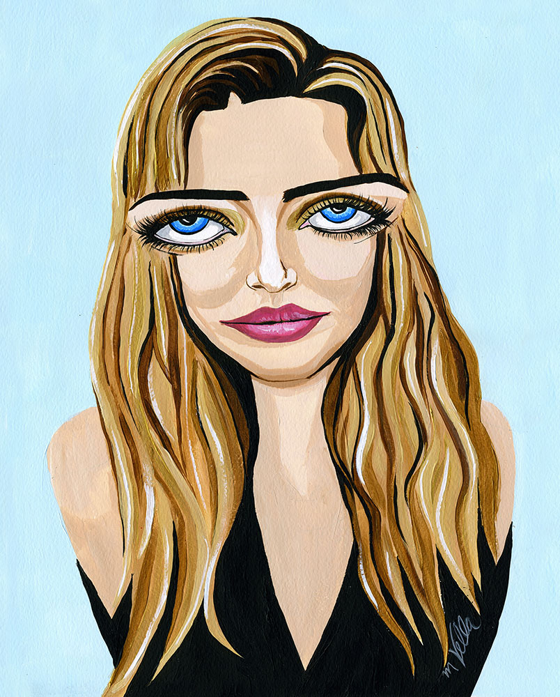 Kirsten for Everyone Magazine Cover 2016 $400 unframed