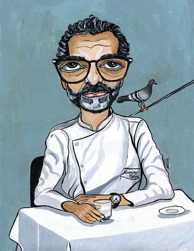 Chef Massimo Bottura $650 unframed