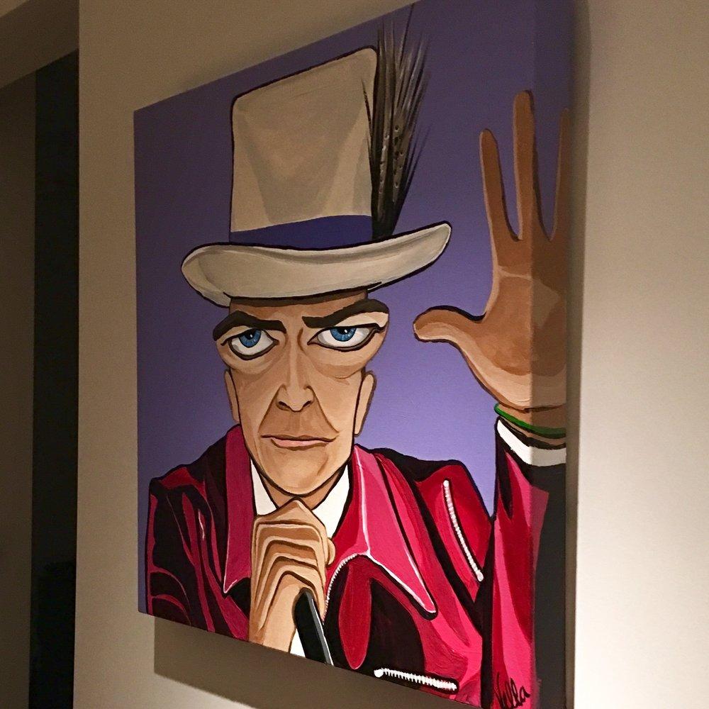 "GORD, 24"" x 24"", acrylic on canvas"