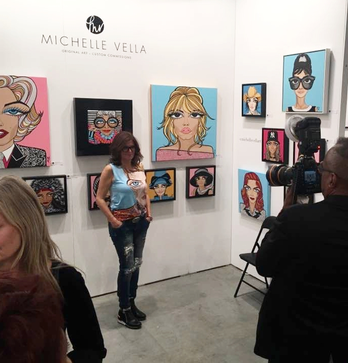 WIDE BIG EYES were all the buzz at the 2018 Artist Project Toronto!