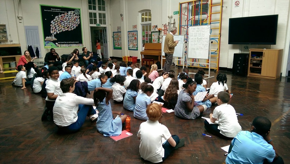 Michael Rosen at Earlsmead