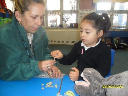 Children in reception learn to build positive relationships with peers and adults.