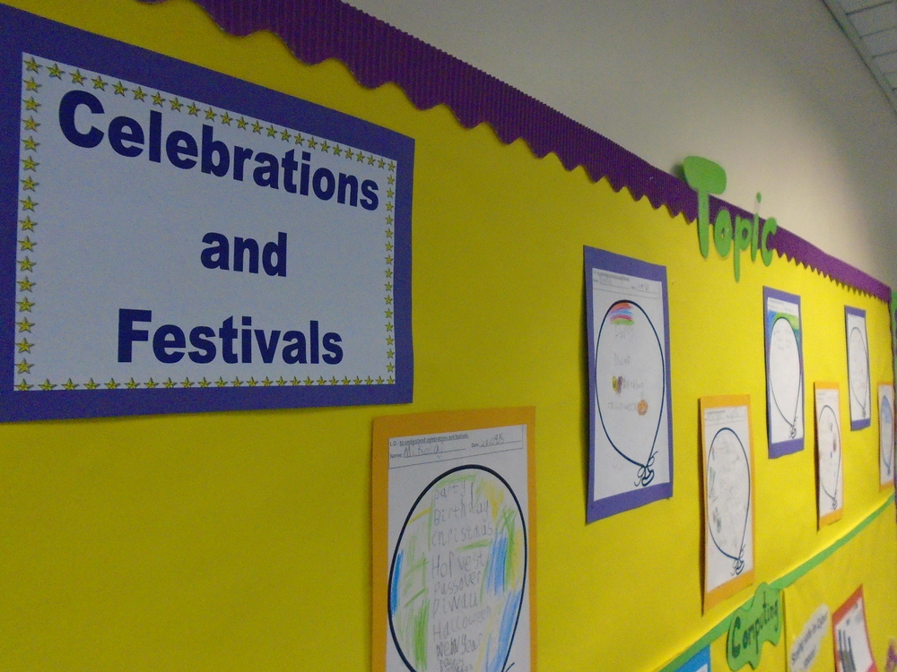 Our R.E. focus in the first half of the Autumn term was festivals and celebrations.