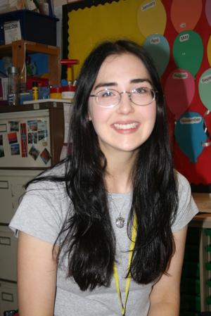 Our teacher -Ms Vanos