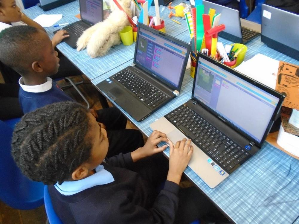 Indigo Class joined tens of millions of pupils around the world in practicing their programming skills, solving Minecraft puzzles.