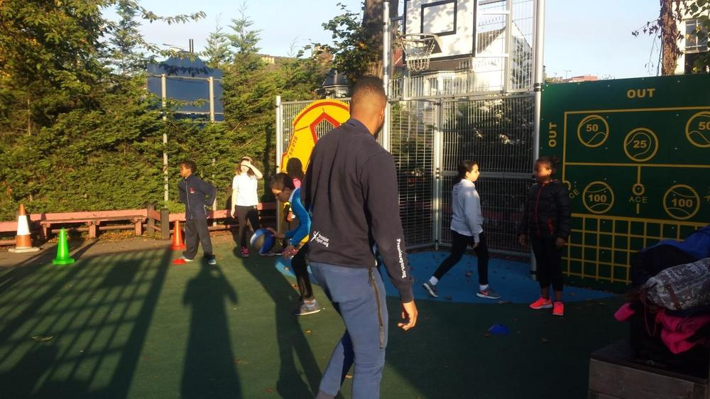 Some of us attended Basketball Club this term and really enjoyed it.