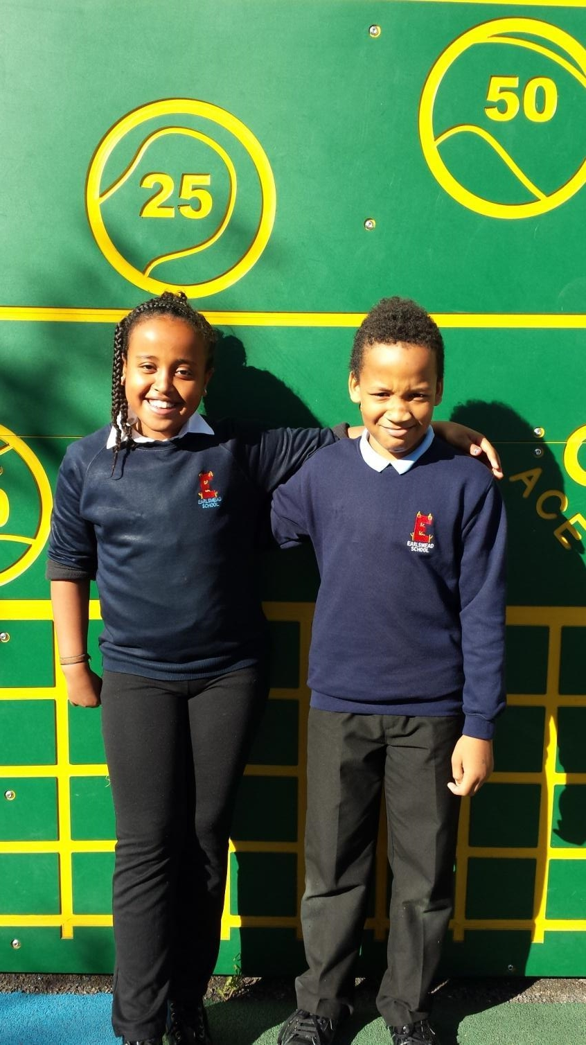 OUR SCHOOL COUNCILLORS ARE: YOSAN and KHAIRI