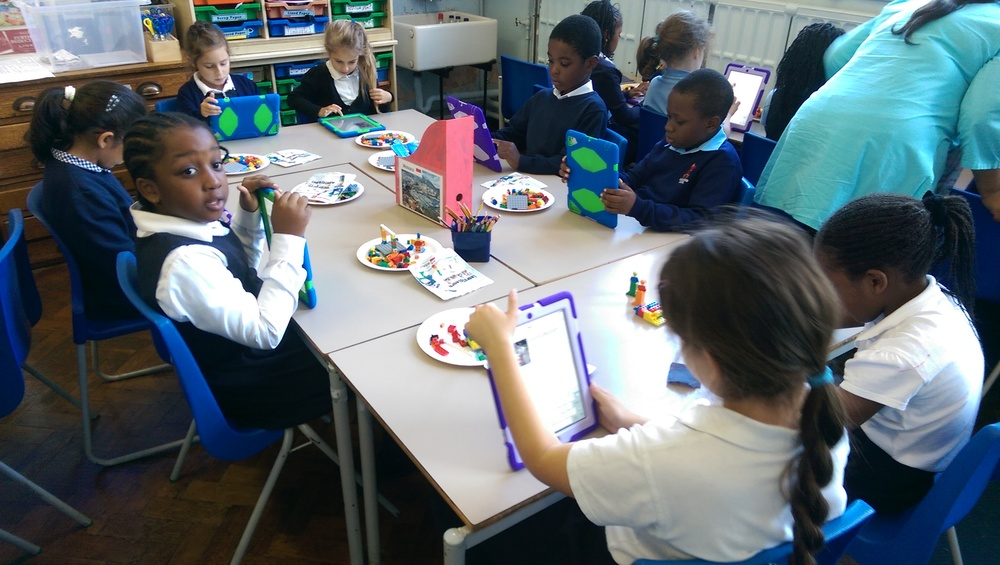 We then used the iPads and our photographs to write the final versions of our stories.