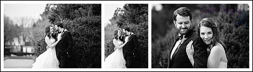 These classic black and white images are timeless, and I love Olivia and Dan's genuine smiles.