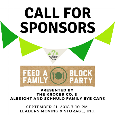 Click  here  to sponsor the 2018 Feed-a-Family Block Party!