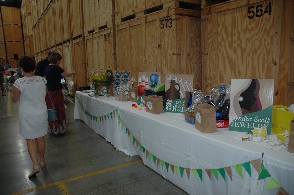 Raffle Table with signs visible.jpg