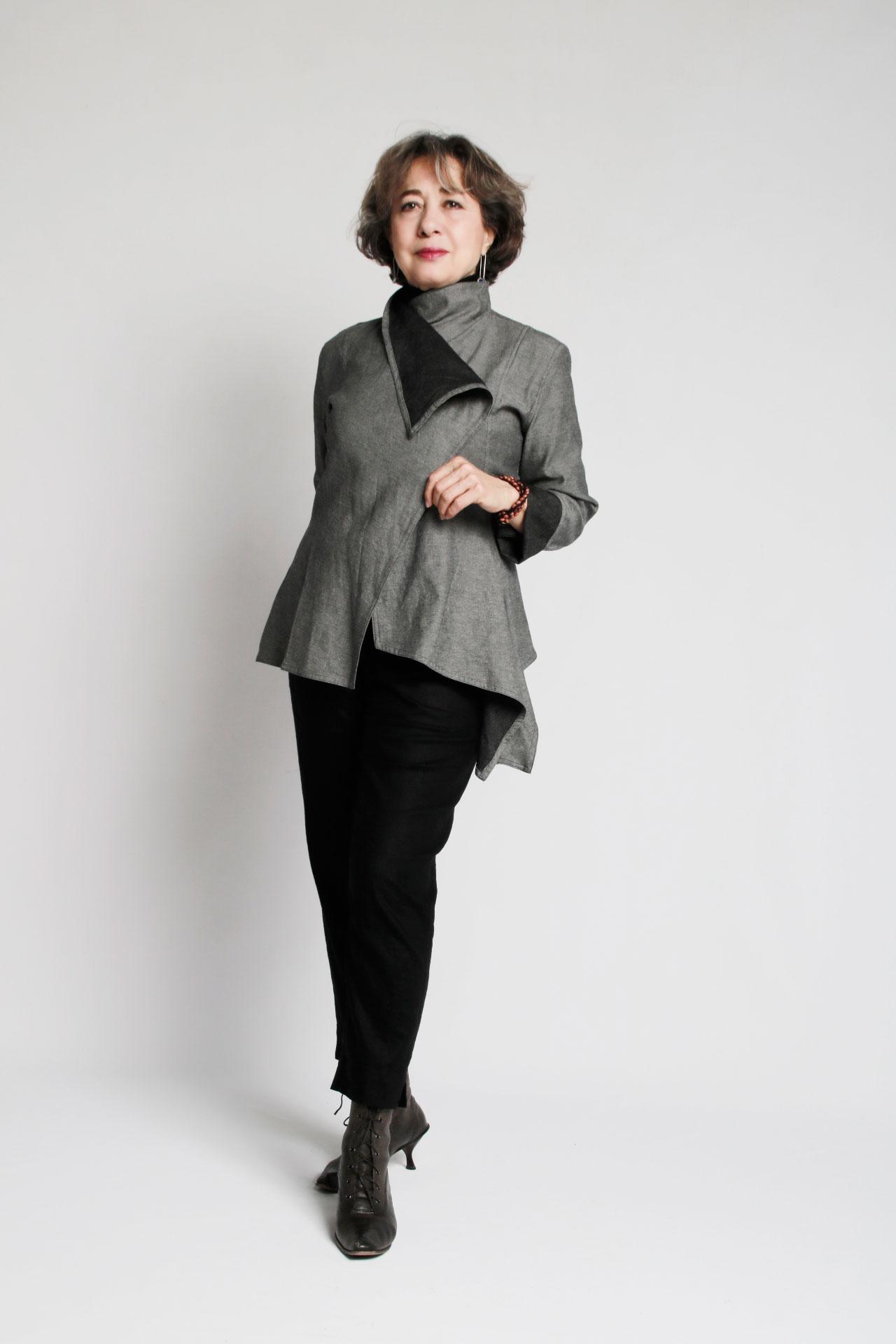 Pua Naturally — Taki Reversible Lightweight Denim Jacket