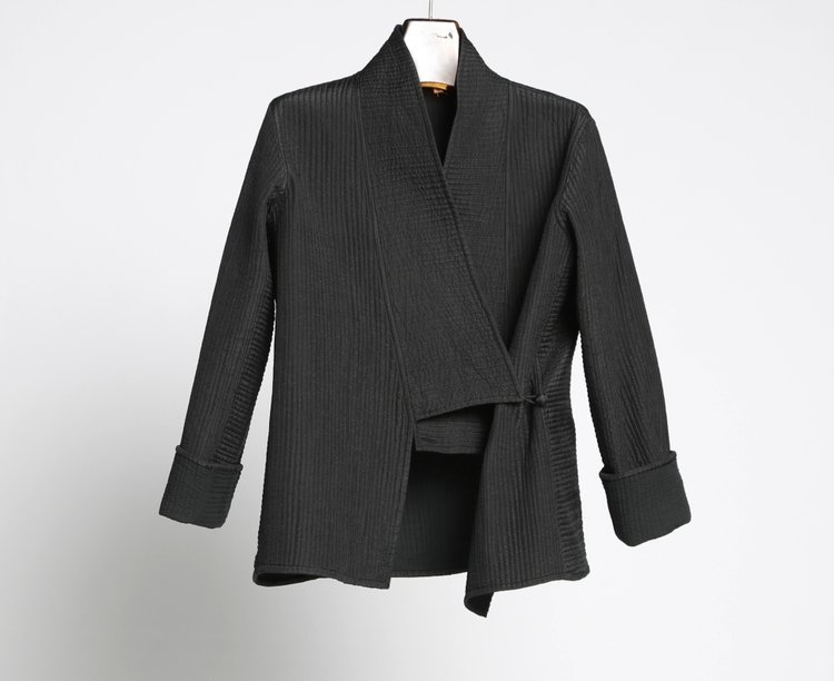 Pua Naturally — Quilted Silk Monk Jacket : quilted silk - Adamdwight.com