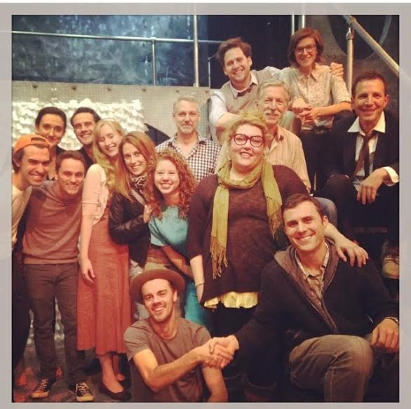 12/18/13 Last day of Pinter/Stoppard class at Antaeus!  Gonna miss this lot of misfits!