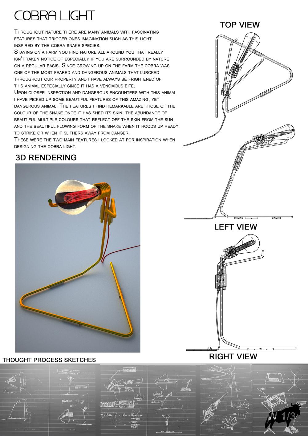 cobra lamp design
