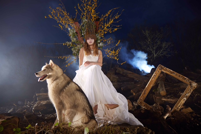 Angelica and The Wolf...