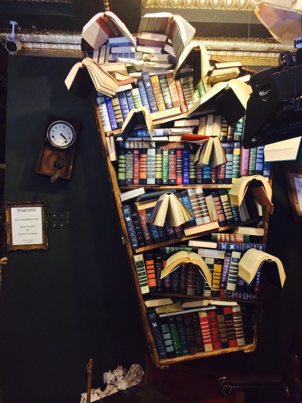 Animated Bookcase