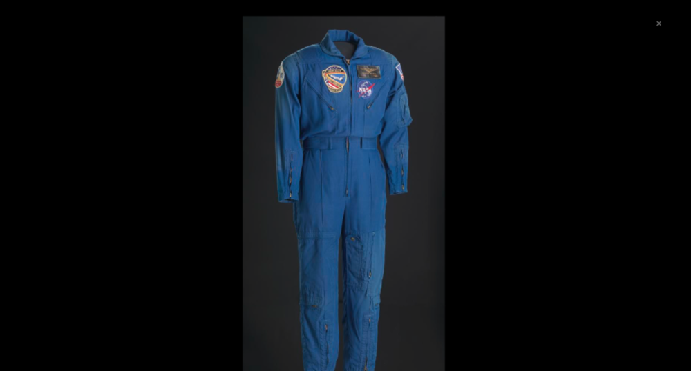 This  flight suit was worn by Charles F. Bolden during his first spaceflight. This suit inspired us and is a reminder of all the African Americans who had a positive impact on society.