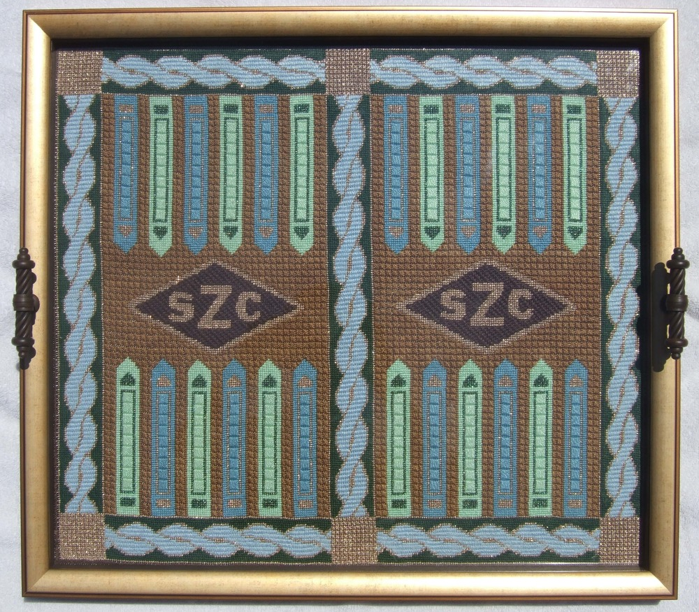 Needlepoint Backgammon Set S7BG .JPG