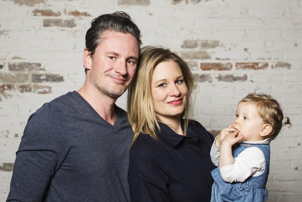 Bettina Diemer, Philipp Gertner & Céleste - Chefs und zukünftige Chefin