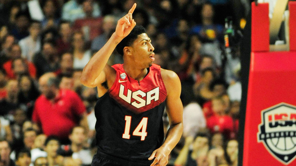 Anthony Davis is the new face of Team USA.David Banks - USA Today Sports