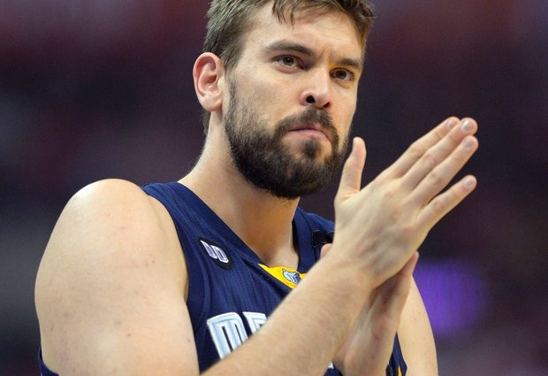 The Grizzlies were much better when Marc Gasol played last year.  Getty Images