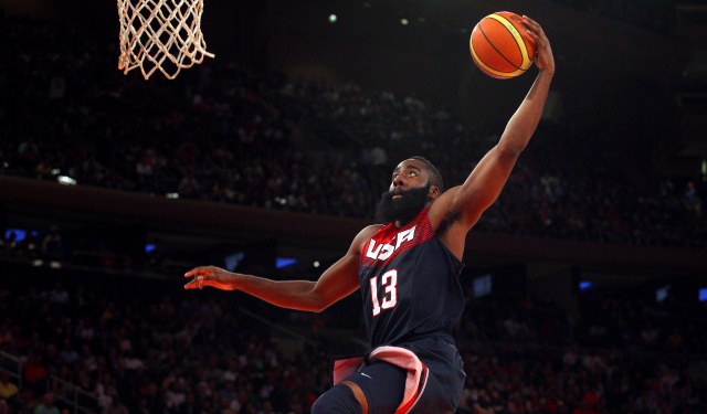 James Harden and Team USA had a tough game against Turkey.