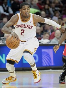 Kyrie Irving controls the ball like it's on a string.