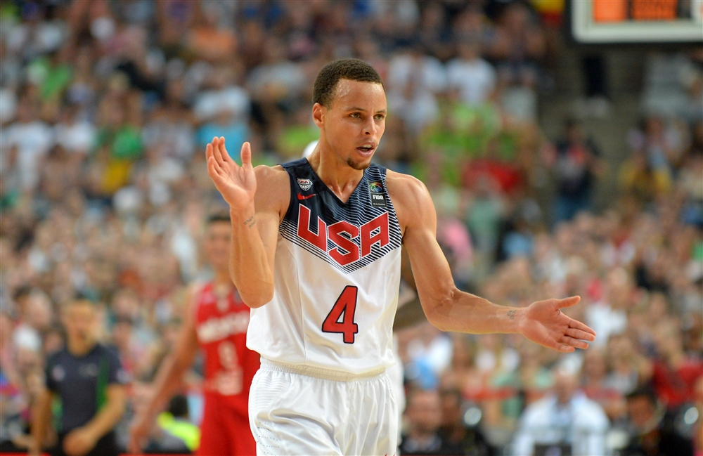 What will Steph Curry do for an encore after scoring 20 points against Mexico on Saturday?