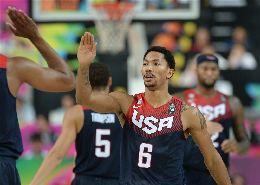 This World Cup has been a success for Derrick Rose.