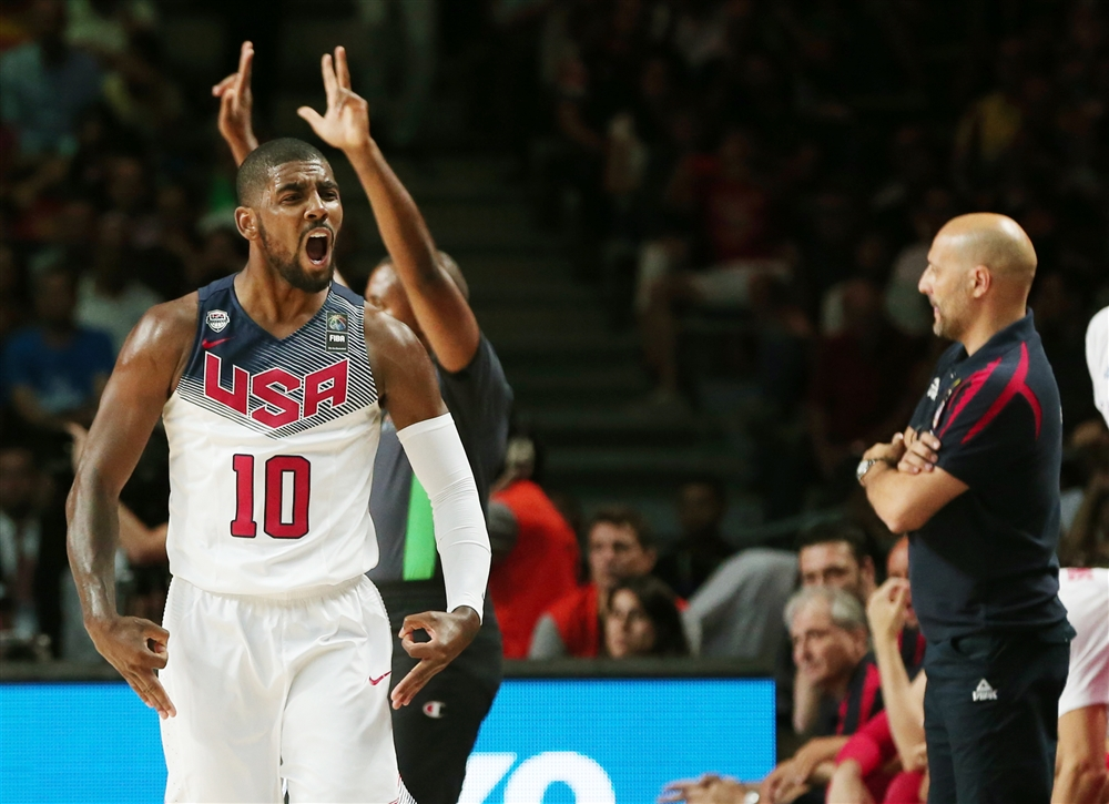 Kyrie Irving led team USA to a gold medal after scoring 26 points against Serbia. He went 6-6 from three point land.