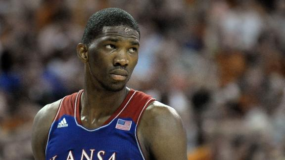The Sixers top pick Joel Embiid might not play this season.