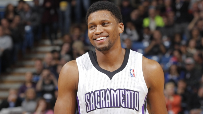 Rudy Gay played really well for the Kings last season.