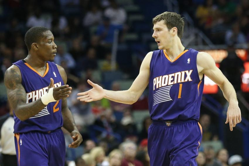 Eric Bledsoe and Goran Dragic will be back together.
