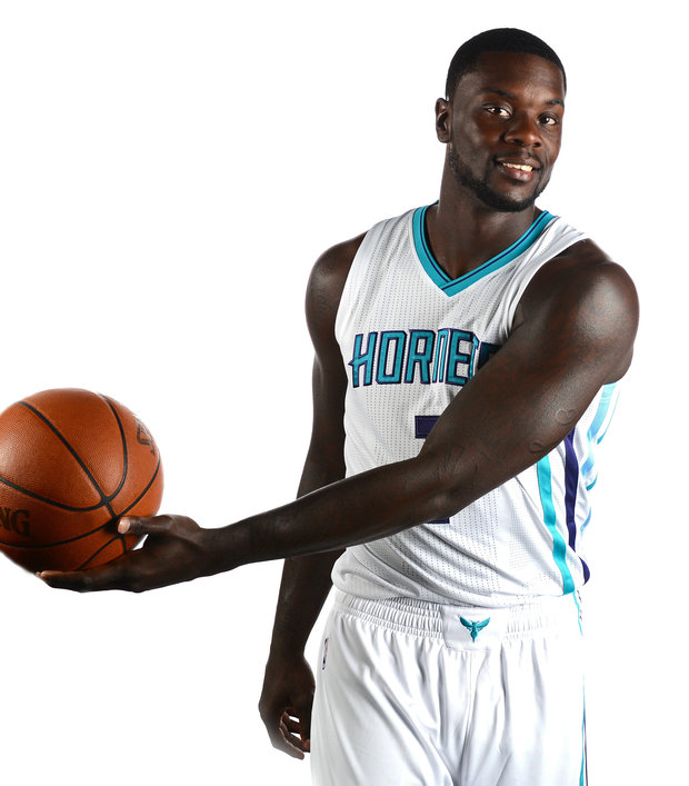 Lance Stephenson looks good in his new uniform.