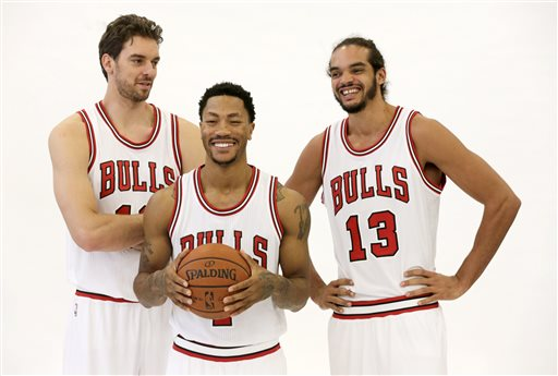Bulls fans hope this new trio will lead them to an NBA Championship