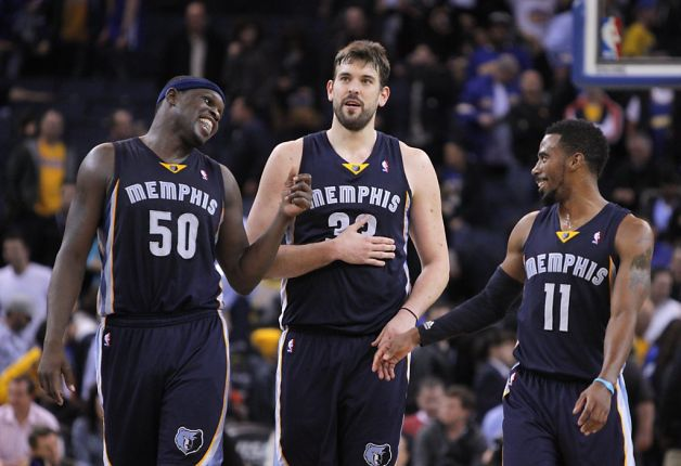 Can Zach Randolph, Marc Gasol and Mike Conley finally get through the Western Conference?