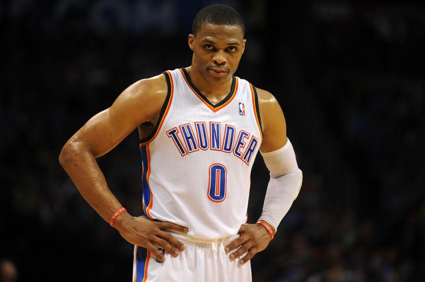 With Kevin Durant out, Russell Westbrook becomes the number 1 option for the Thunder.