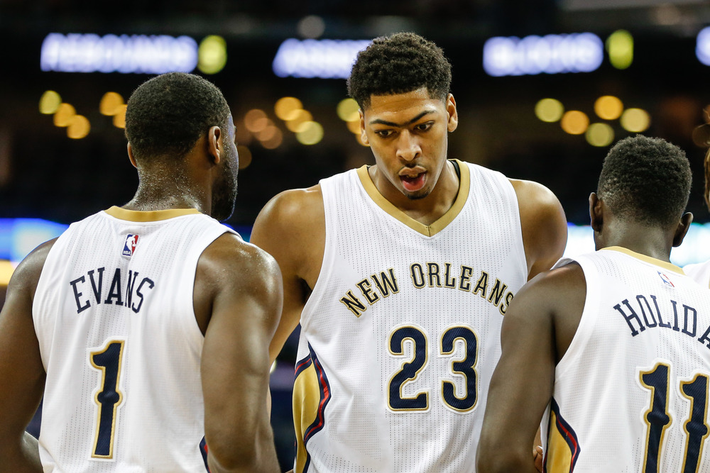 Anthony Davis and the Pelicans open the season at home against the Orlando Magic.