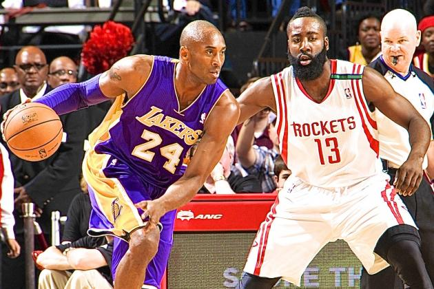 The Mamba makes his return against James Harden and the Rockets.