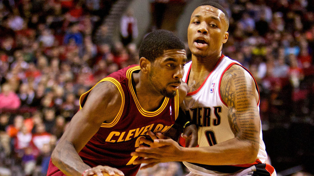 A battle between two young point guards; Kyrie Irving and Damian Lillard.